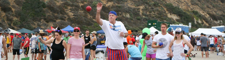 Beach Bocce Ball Tournament
